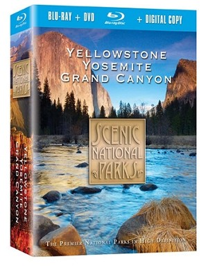 Scenic National Parks Collection Blu-Ray + Combo Pack 3 pk.