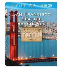 Best of Travel - San Francisco, Seattle, Vancouver Blu-Ray + Combo Pack