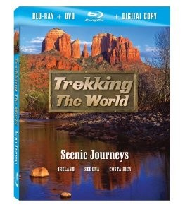 Trekking the World - Scenic Journeys Blu-Ray + Combo Pack