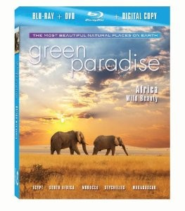 Green Paradise - Africa  Blu-Ray + Combo Pack