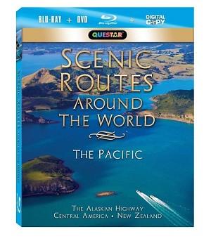 Scenic Routes Around the World - The Pacific Blu-Ray + Combo Pack