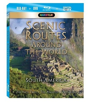 Scenic Routes Around the World - South America Blu-Ray + Combo Pack