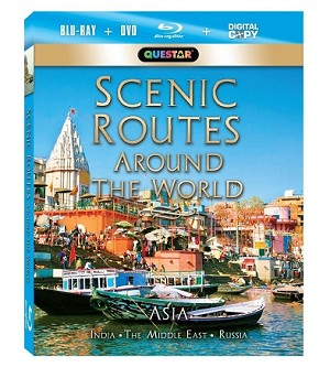 Scenic Routes Around the World - Asia Blu-Ray + Combo Pack