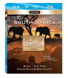 Best of Travel - South Africa Blu-Ray + Combo Pack