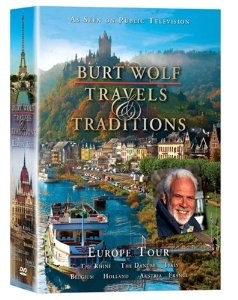 Burt Wolf - Travels and Traditions -Europe Tour 6 pk.