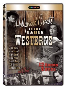 Hollywood Greats in the Early Westerns 3 pk.
