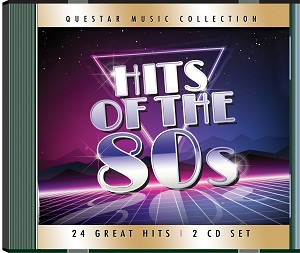 Hits of the 80s CD 2 pk.