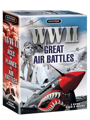 World War II - Great Air Battles 3 pk.