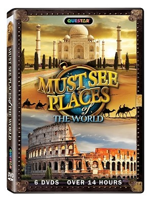 Must See Places of the World 6 pk.