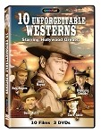 10 Unforgettable Westerns 3 pk.
