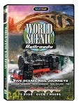 World Scenic Railroads 3 pk.