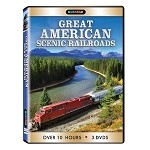 Great American Scenic Railroads 3 pk.