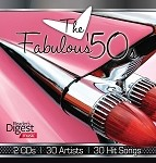 The Fabulous 50s CD 2 pk.