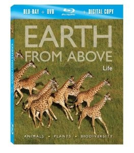 Earth From Above - Life Blu-Ray + Combo Pack
